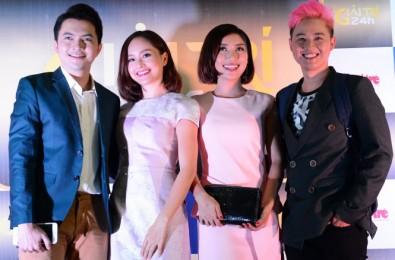 Từ trái qua: ca sĩ Nam Cường, diễn viên Lan Phương,
