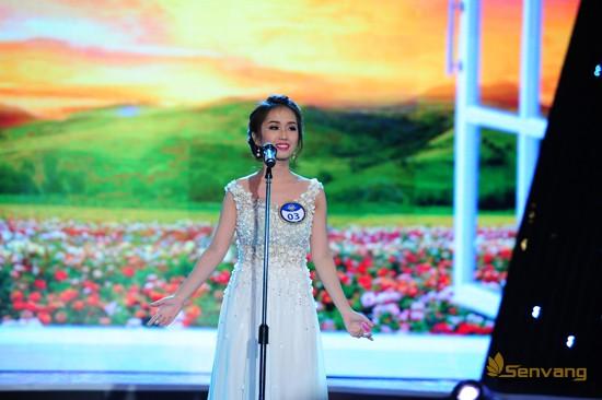 Thí sinh Lâm Minh Ngọc (MS 03) ngọt ngào, lãng mạn với ca khúc Mattinata