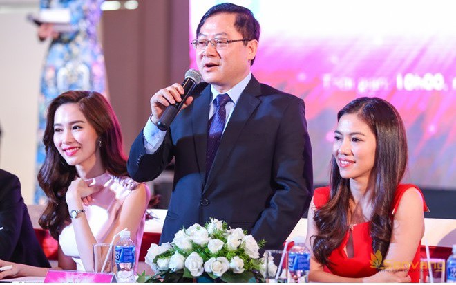 Ông Lê Xuân Sơn công bố cuộc thi nhan sắc cấp quốc gia chính thức được phát động và giới thiệu một số thành phần ban giám khảo