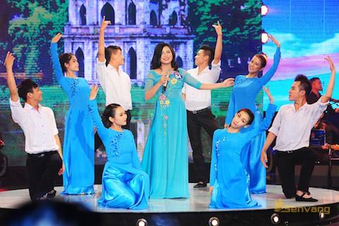 Bùi Thị Thúy, giải Nhất bảng dân ca tại cuộc thi Tiếng hát truyền hình 2014