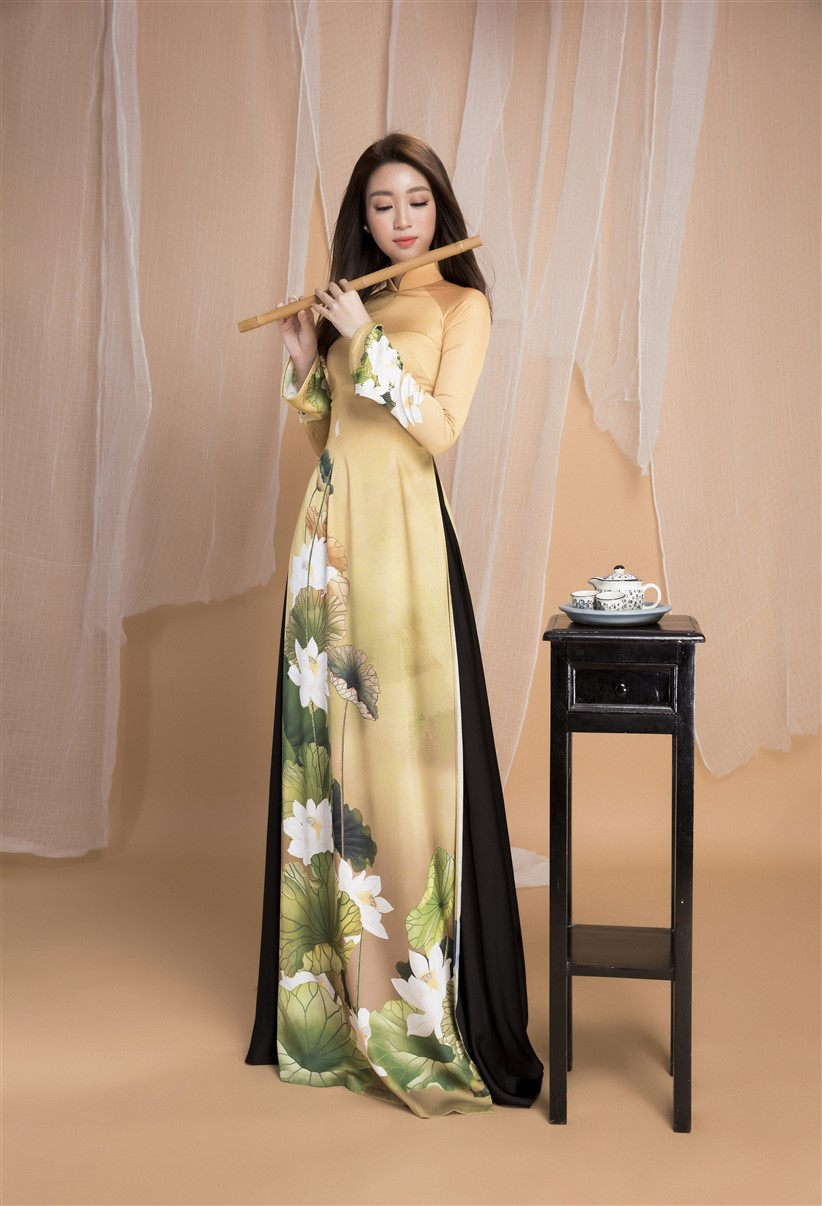 Hoa hau Do My Linh (1)