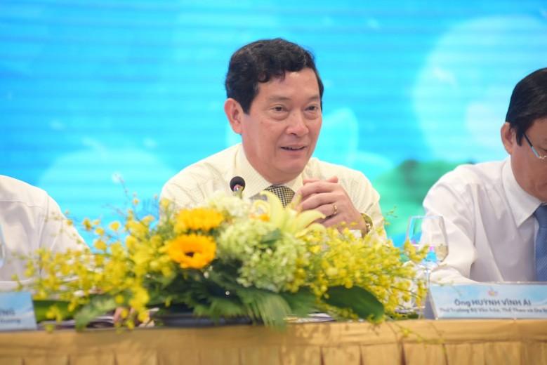 Ong Huynh Vinh Ai - Thu truong Bo van hoa hoa the thao va du lich